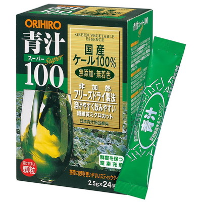 Orihiro super 100 green vegetable essence